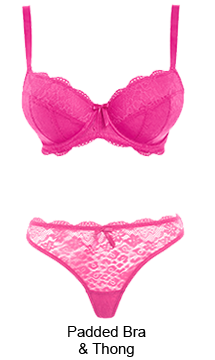 Guide to pink lingerie